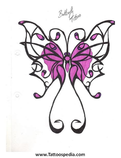 butterfly with cross tattoos designs tony baxter