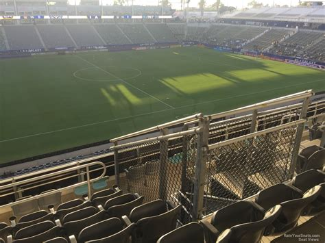 section 8 soccer stubhub center section 234 la galaxy rateyourseats com