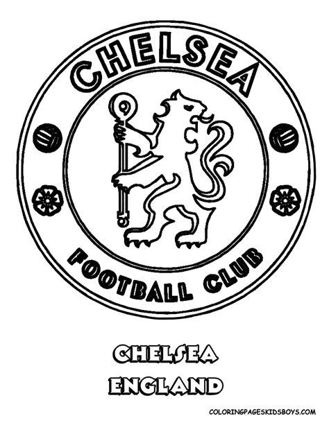 bandeira escudo do chelsea para colorir example best