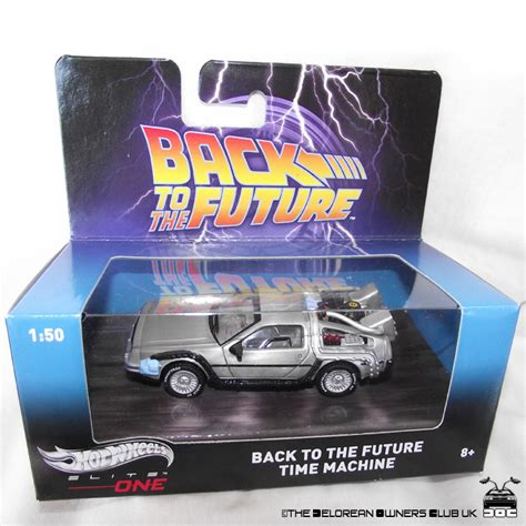 Hotwheels Elite One Back To The Future 1 hotwheels elite back to the future delorean collector model 1 50 the delorean owners club uk