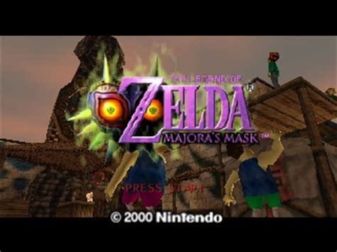 emuparadise zelda majora s mask legend of zelda the majora s mask usa preview demo rom