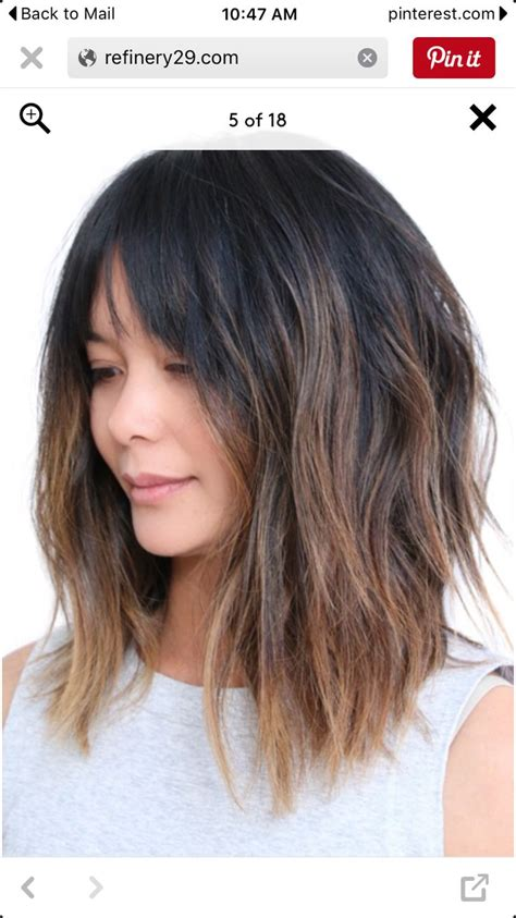 how to fix inverted bob how to fix a shoulder lemgth bob 1000 ideas about choppy