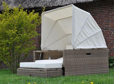 garten heiligenstedten lounge garten polyrattan liege sonneninsel