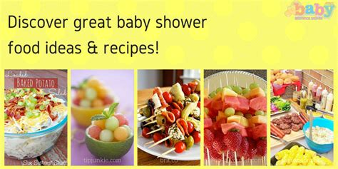 What To Serve In A Baby Shower by Discover Great Baby Shower Food Ideas To Serve Your Guests