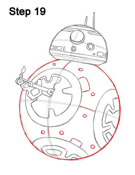 Bb8 Drawing Outline by Wars Bb8 Coloring Coloring Pages