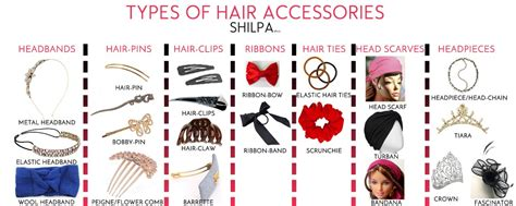 Different Types Of Hair Pins by How To Wear Hair Accessories