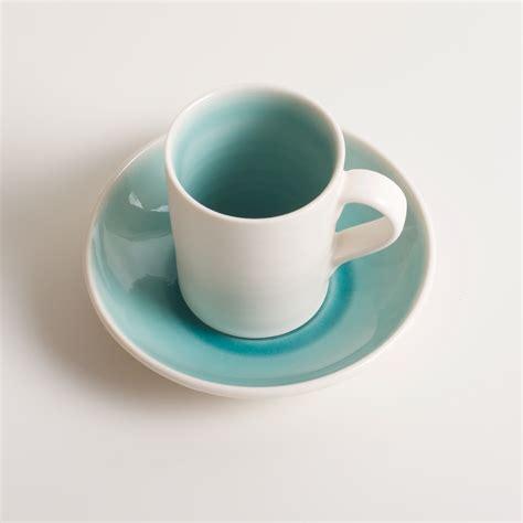 Handmade Espresso Cups - handmade espresso cup saucer bloomfield