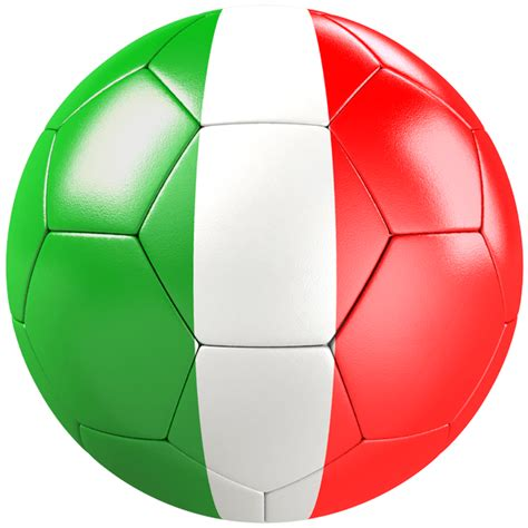 Soccer Wall Mural soccer ball flag of italy