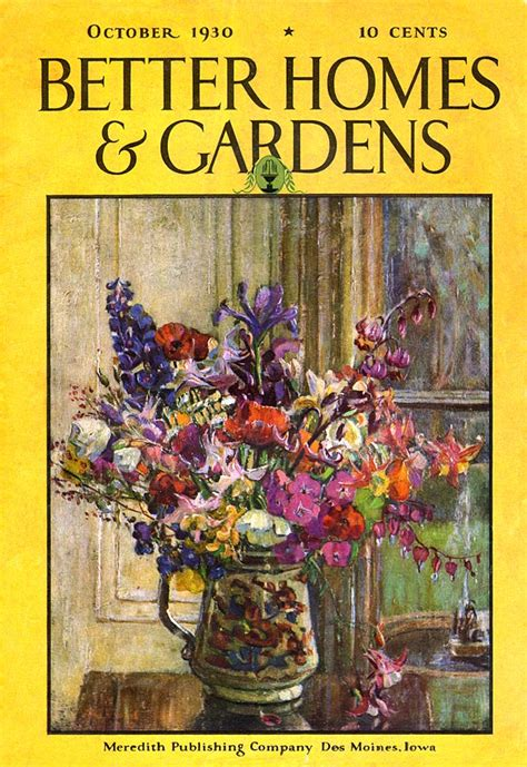 Better Homes And Gardens Magazine Phone Number by Better Homes And Gardens 1930 10