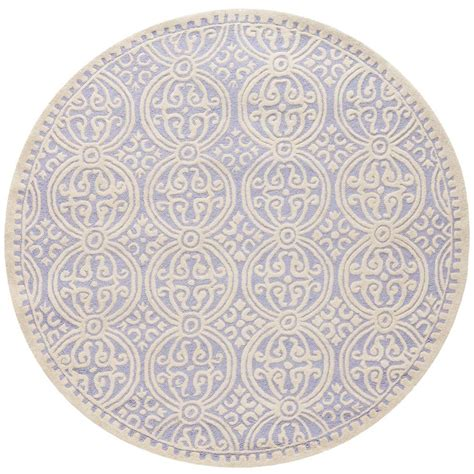 8 foot rug safavieh lyndhurst ivory 8 ft x 8 ft area rug lnh327a 8r the home depot