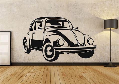 Volkswagen Classic Aufkleber by Vw Beetle Classic Car Wall Art Sticker Volkswagen