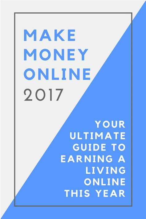 Free Guide To Making Money Online - best 10 way to make money ideas on pinterest make money from home extra money and