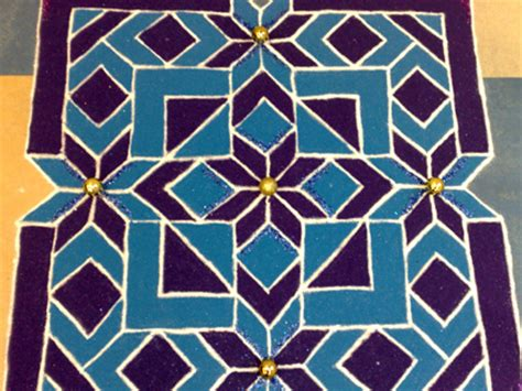 geometric pattern rangoli bbc london london local the art of diwali