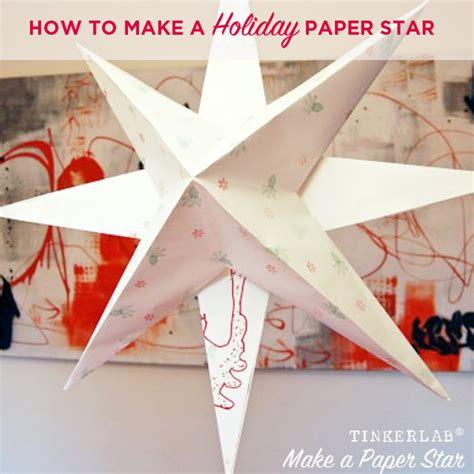 How To Make A Paper Parol - how to make a paper tinkerlab