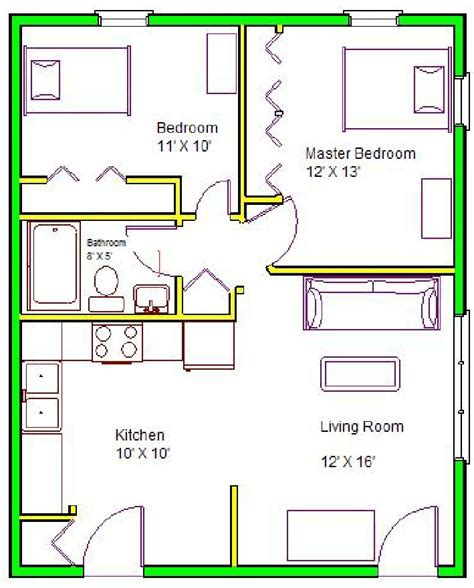 floor plan of a two bedroom flat 2 bedroom apartment floor plans home planning ideas 2018