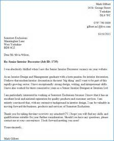 cover letter writer exle of a cover letter