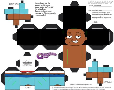 Papercraft Shows - fg6 rallo tubbs cubee by theflyingdachshund on deviantart