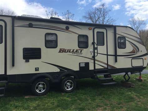 ultra light rv trailers 2014 used keystone bullet ultra lite travel trailer in