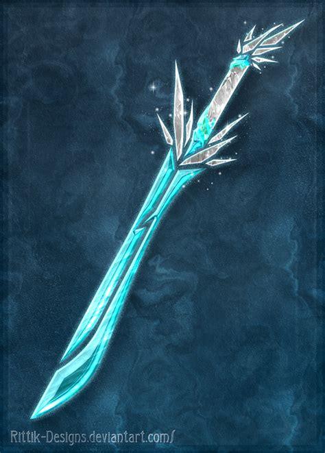 imagenes de espadas epicas elemental swords ice closed by rittik designs on