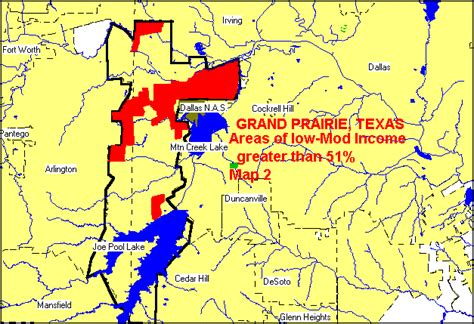 map of grand prairie texas grand prairie consolidated plan for 1995 executive summary