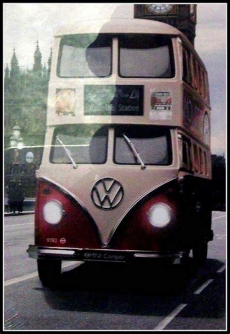 double decker  vw pinterest volkswagen buses  happy
