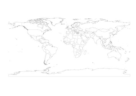 world map outline vector what is a vector 187 vector world map projection free
