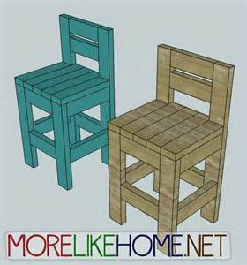 Build Your Own Bar Stool Plans Build A 2x4 Chair Woodworking Projects Plans