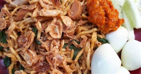 resep bakmi goreng jawa enak  sederhana cookpad
