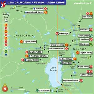 map of california golf courses deboomfotografie