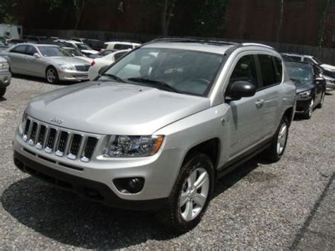 2012 Jeep Compass Latitude Sell New 2012 Jeep Compass Latitude 4wd Rebuildable