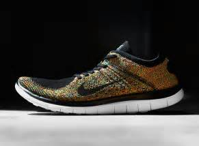 nike color nike free 4 0 flyknit quot multi color quot sneakernews