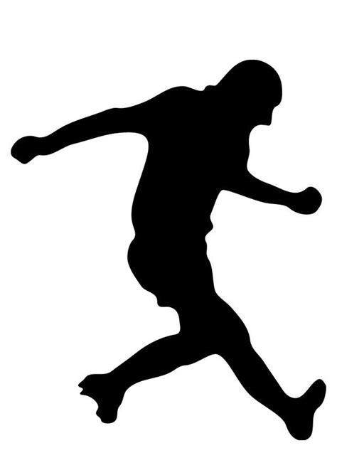 Malvorlage Fussballspieler - Kostenlose Ausmalbilder Zum