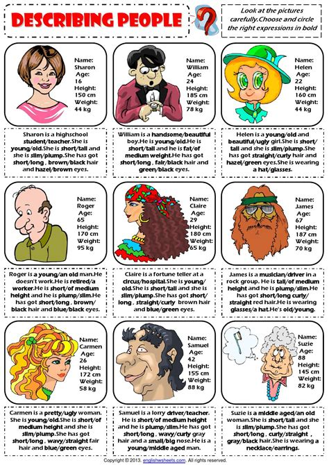 Spanish Style Home Plans describing people physical appearance worksheet by