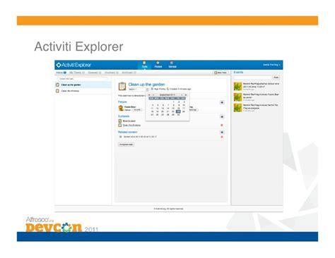 alfresco activiti workflow exle bpm 4 migration from jbpm to activiti