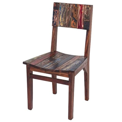boat dining chairs dining chair high back reclaimed fishing boat wood