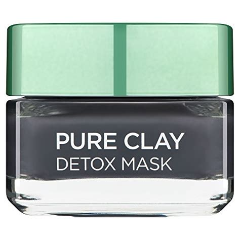 Loreal Charcoal Mask Detox Review by L Oreal 3 Clays And Charcoal Detox Mask 50 Ml