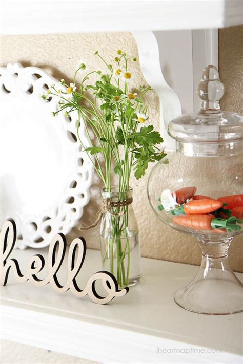 diy spring decorating ideas 20 dashing inexpensive diy spring decorations to