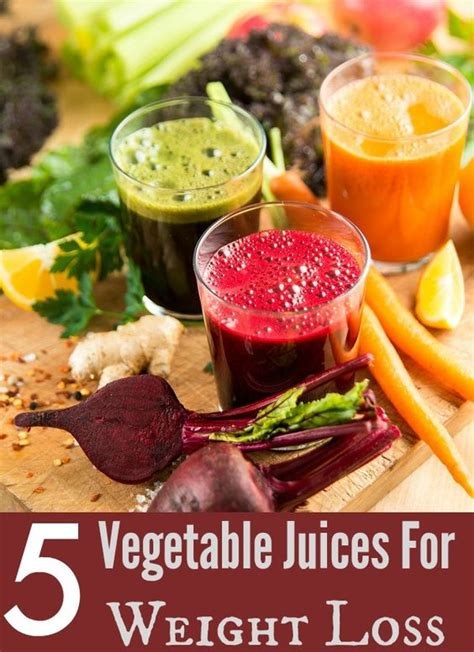 5 weight loss vegetables vegetables juice and weights on