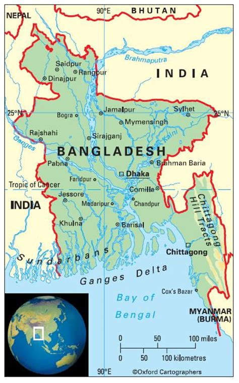 geographical map of bangladesh geography in bangladesh