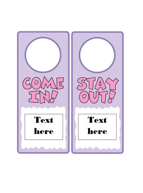 door hanger template for publisher 43 free door hanger templates word pdf template lab