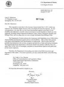 Complaint Letter Keywords sle discrimination complaint letter to eeoc docoments