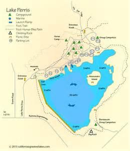 lake perris map