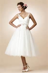 simple tea length wedding dresses simple tulle v neckline sleeveless tea length a line