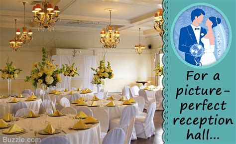 Wedding Reception Halls by 7 Ideas On How To Decorate A Reception To Make It
