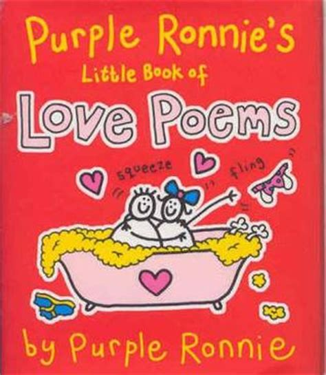 poems about the color purple book purple ronnie s book of poems by giles andreae