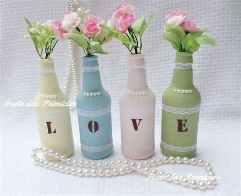 25 melhores ideias sobre garrafas decoradas para - Garrafa Decorada Lilás