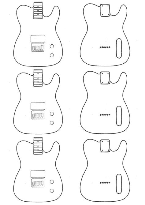 telecaster guitar template mylk project kes telecaster guitars