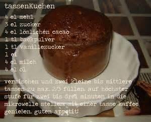 tassen kuchen tassenkuchen rezepte suchen