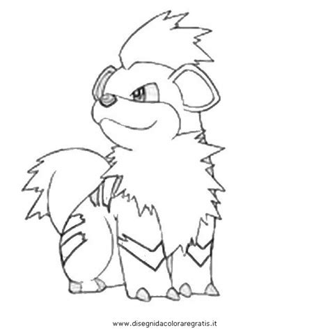 pokemon coloring pages growlithe growlithe pokemon colouring pages