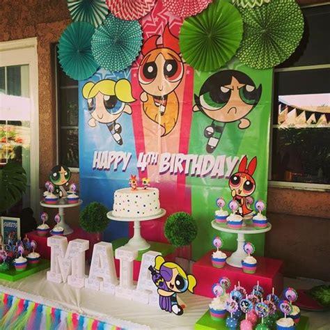 powerpuff girls birthday party my pinterest inspired the powerpuff girls birthday party ideias ideias de
